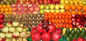 Фрукты на рижском рынке
