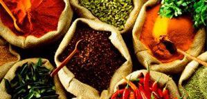 Пряности и приправы на рижском рынке
