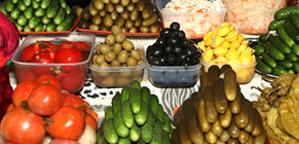 Зелень на рижском рынке